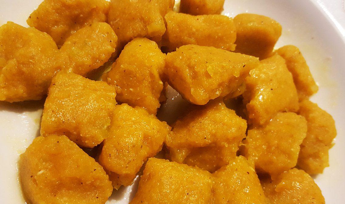 Ricetta Gnocchi Di Zucca Per Celiaci.Gnocchi Di Zucca Senza Glutine Il Piatto Del Weekend Con I Bambini Santalessandro